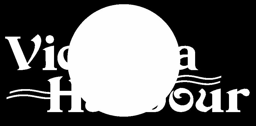 victoria harbour logo white